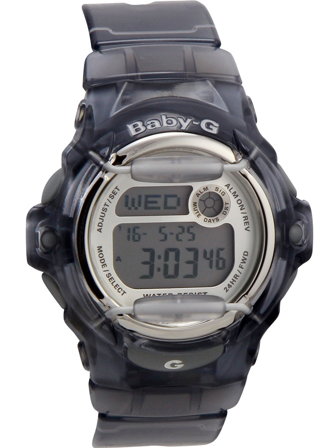 Casio - Women's BG169R-8 Baby-G Gray Resin 42 mm Resin Strap Quartz Sport  Watch - Walmart.com - Walmart.com