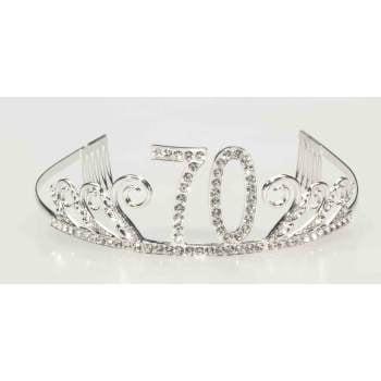 HAPPY BIRTHDAY GEM TIARA-70 (Happy Birthday Tiaras)