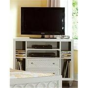 My Home Furnishings Amanda- Bright White 1302-413 Media Chest - 4 Drawers