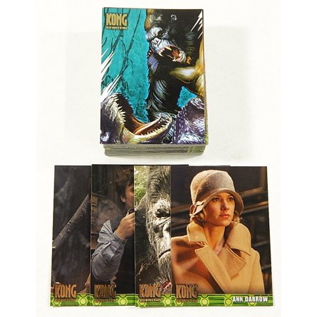 2005 Topps Kong The 8th Wonder of the World Trading Card Set (80)