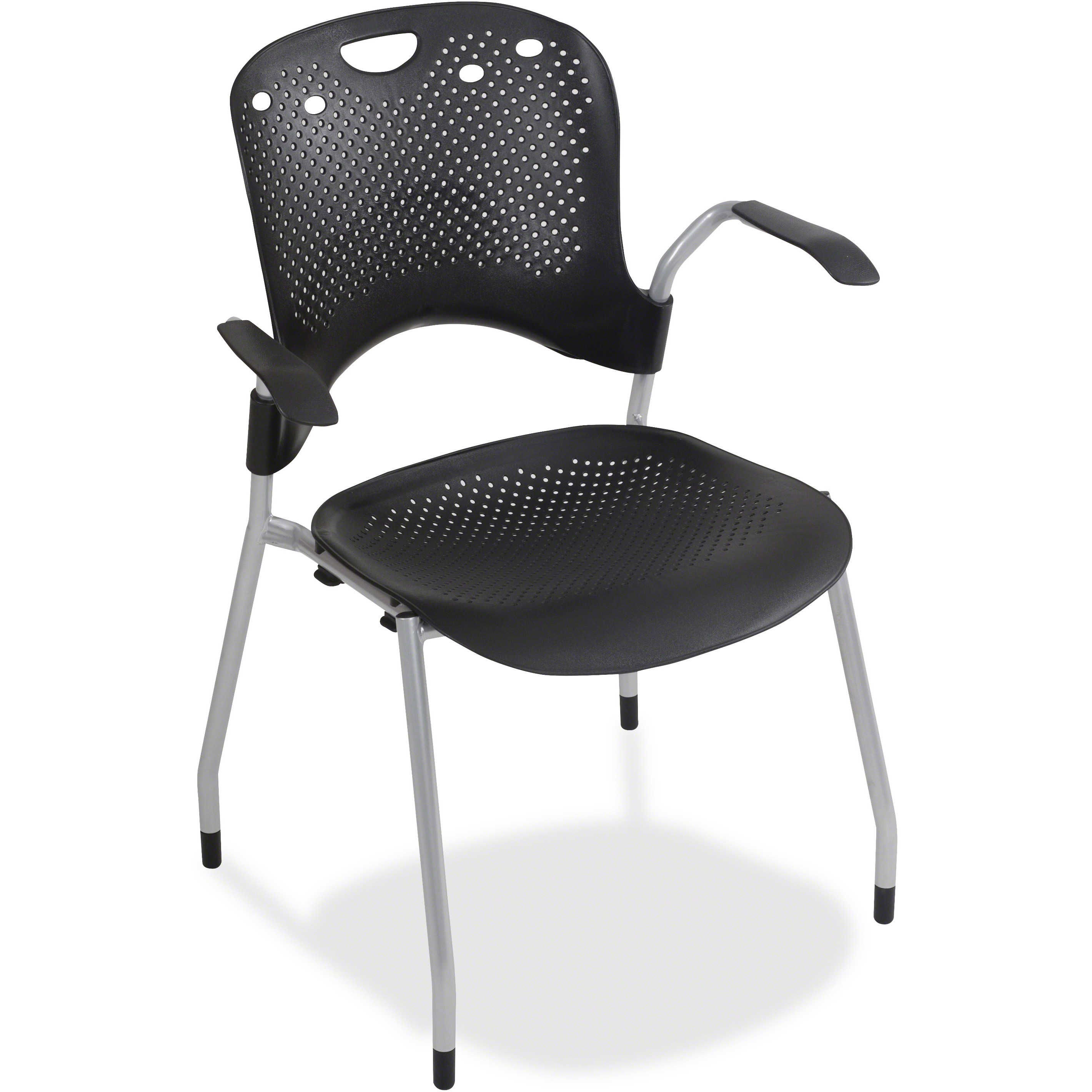 BALT Optional Arms for Circulation Series Seating, Black/Silver