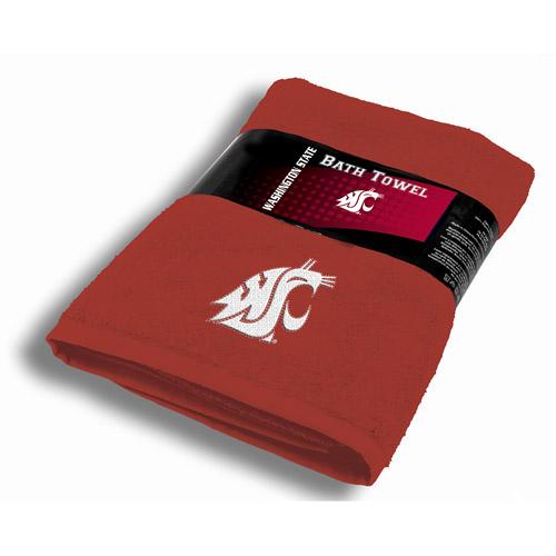 NCAA Washington State Cougars Bath Towel