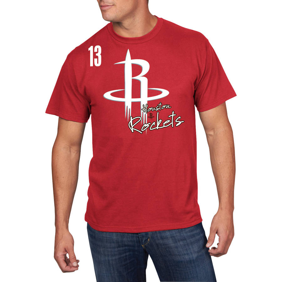 NBA Men's Houston Rockets Short Sleeve James Harden Player Tee
