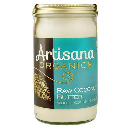 Artisana Organics Raw Nut Butter Coconut -- 14 oz pack of 1