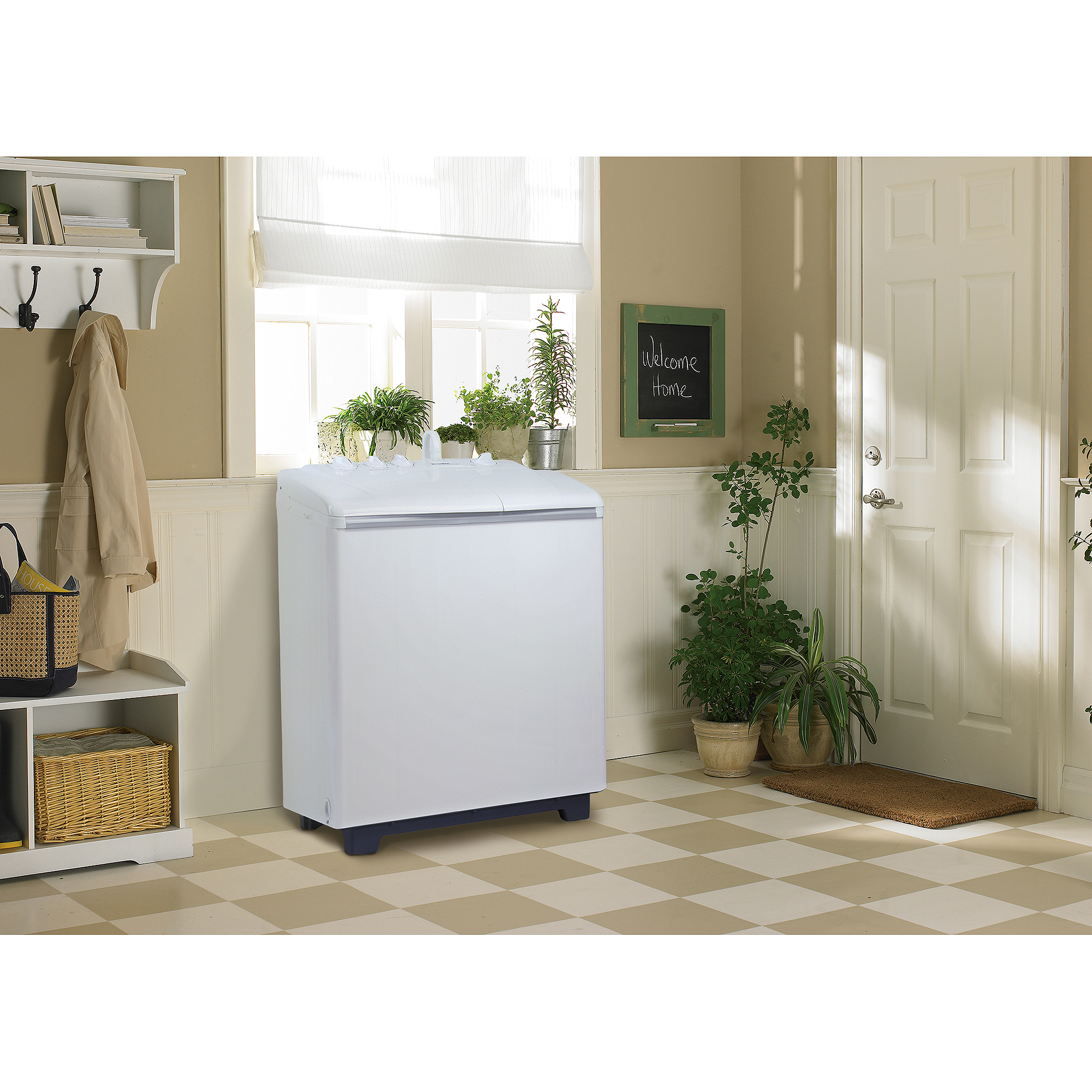 Danby 2.26 Cu Ft Twin Tub Washing Machine With Spin Dry, White   Walmart.com