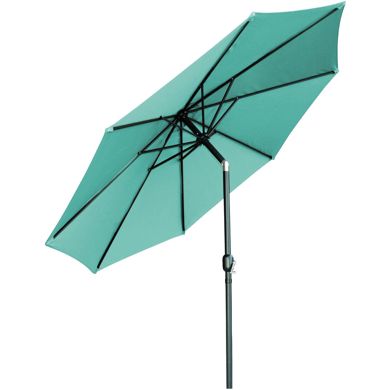 Tilt Crank Patio Umbrella, 10u0027, By Trademark Innovations   Walmart.com