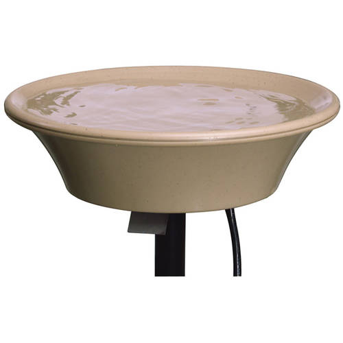 "API 14"" Heated Birdbath with EZ-Tilt Deck Mount by MILLER"