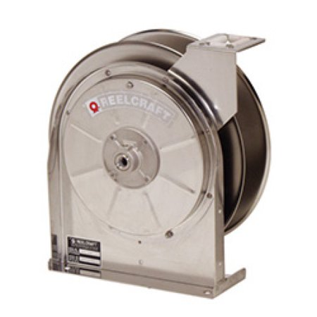 Reelcraft 5600 Els 3 8  X 35 Stainless Enclosed Hose Reel  300 Psi No Hose