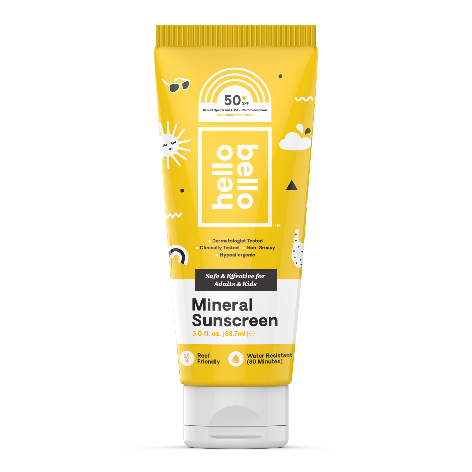 Hello Bello Mineral Sunscreen, SPF 50