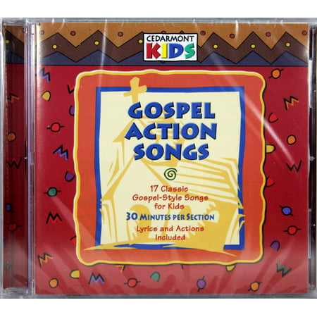 Cedarmont Kids - Gospel Action Songs [CD] ()