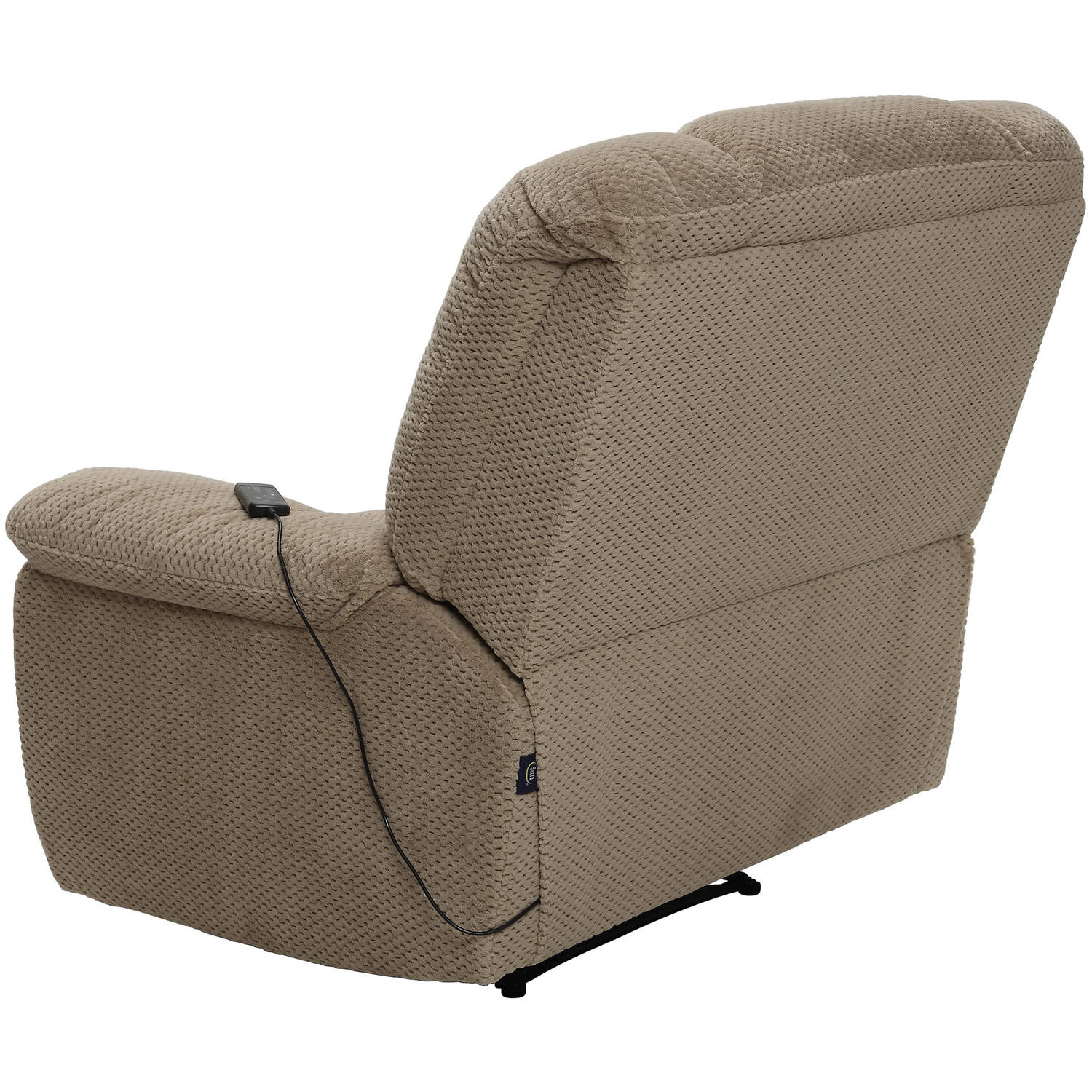 with pemberly seat rotmans serta recliner hughes furniture back chair tufted upholstery number leg at safari item abington high by traditional products