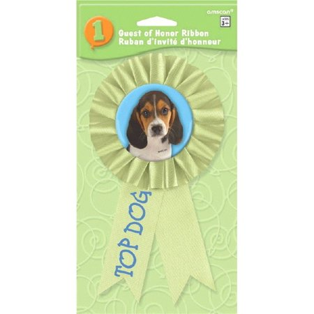 Top Acrylic Award (Party Pups Top Dog Award Ribbon (1 ct))