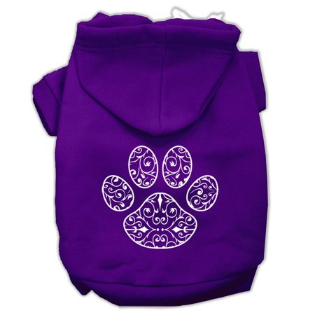 Henna Paw Screen Print Pet Hoodies Purple Size XL (16) A poly/cotton sleeved hoodie for cold weather days, double stitched in all the right places for comfort and durability!Product Summary : Pet Apparel/Dog Hoodies/Screen Print Hoodies/Henna Paw Screen Print Pet Hoodies@Pet Apparel/Dog Hoodies/Screen Print Hoodies COPY/Henna Paw Screen Print Pet Hoodies
