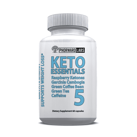 Phorward Labs Keto Essentials 5, Ketogenic Fat Burner, Ketosis Weight Loss (Laars Burners)