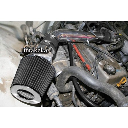 1995 1996 1997 1998 1999 TOYOTA TACOMA 2.4/1995 TOYOTA 4RUNNER 2.4L l4 ENGINE AIR INTAKE KIT SYSTEMS (BLACK)