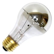 Halco 101182 - A19CL100/SB Silver Bowl Light Bulb