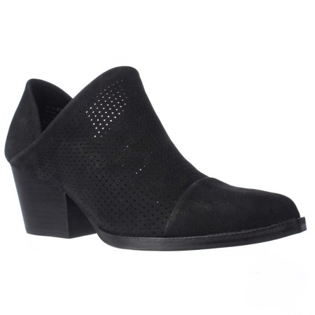 338a504ad03c6 Womens STEVEN Steve Madden Skelos Perforated Ankle Booties, Black