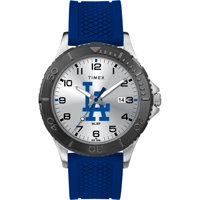 Timex - MLB Tribute Collection Gamer Royal Blue Men's Watch, LA Dodgers