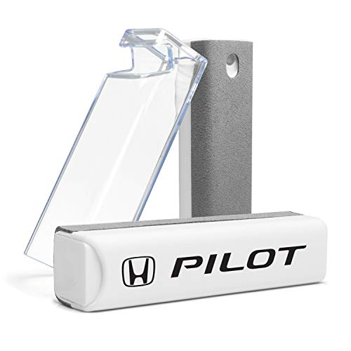 Honda Pilot All-in-One Gray Microfiber Wipe Screen Cleaner for Car Navigation Screen, Touch Pads, Cell Phone Plus Cell Phone Stand