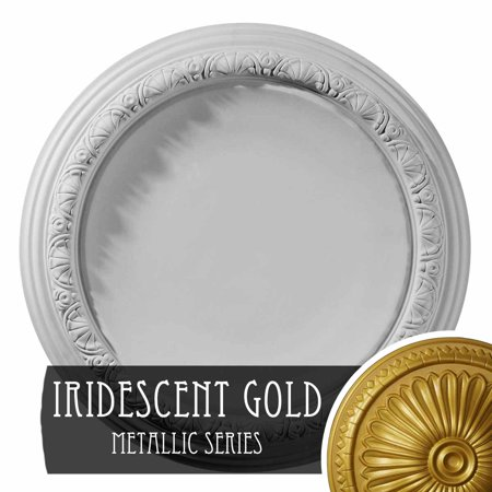 19 1 2 OD x 1 3 4 P Carlsbad Ceiling Medallion Fits Canopies up to 14