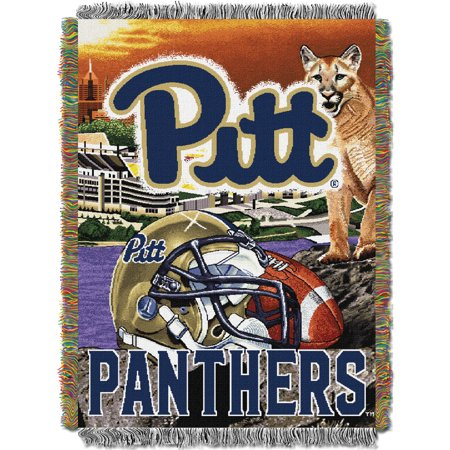Pitt Panthers The Northwest Company 48'' x 60'' Home Advantage Woven Throw - No Size