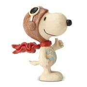 Peanuts By Jim Shore Snoopy Flying Ace Mini Figurine, Enesco By Enesco