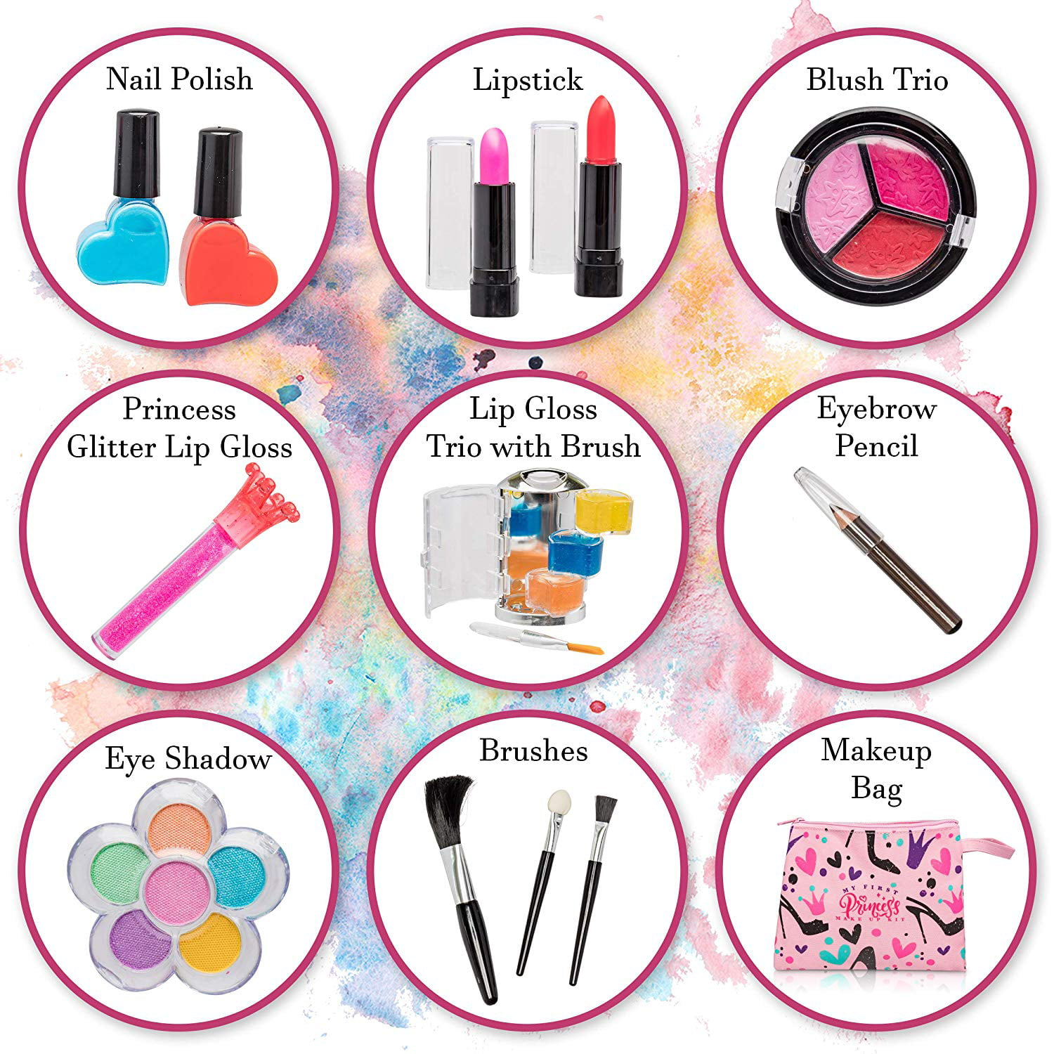 ---Especially For U NEW----3 x Glamour Make Up Purse With Make Up Card Toppers