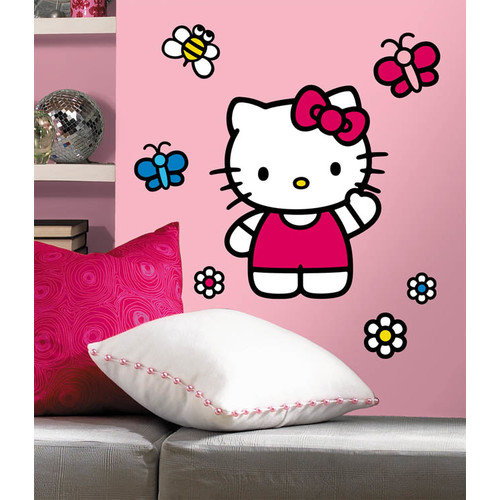 Wallhogs Hello Kitty Room Makeover Wall Decal