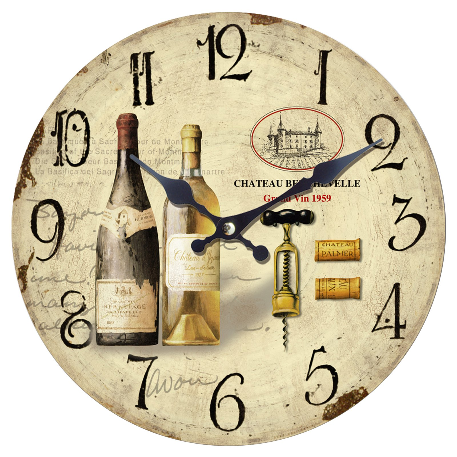 Chateau 13.5 in. Wall Clock