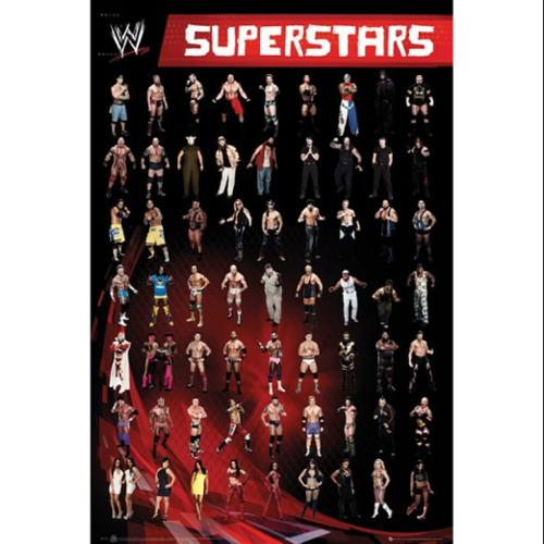 WWE Superstars Poster Print by (24 x 36)