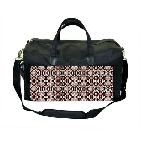 Red Damask Pattern Jacks Outlet Tm Weekender Bag
