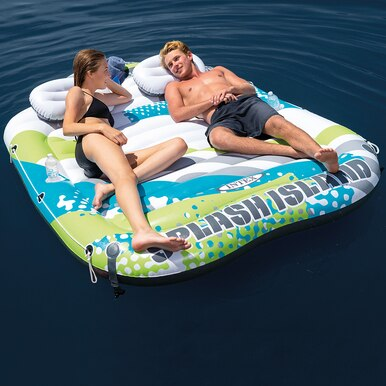 Inflatable Strawberry Swimming Pool Floating Mattress Raft Water Air Mat New