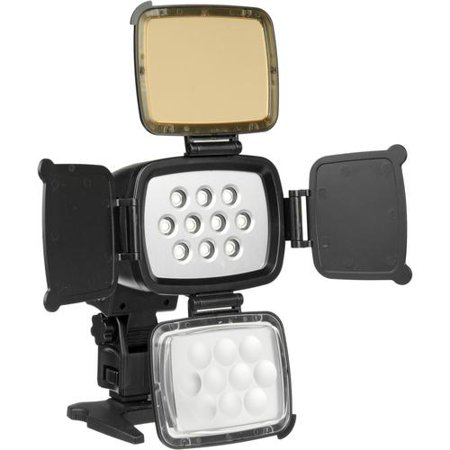 Polaroid Professional High-Power 10 LED Video Light For Cameras & Camcorders
