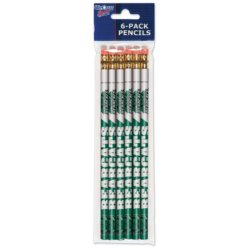 American Logo Products Binghamton University Pencils, 6 Pack