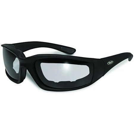 115aeff80ad Kickback PHOTOCHROMIC - Light Adjusting Lenses - EVA Foam Padded Motorcycle  Sunglasses - Walmart.com