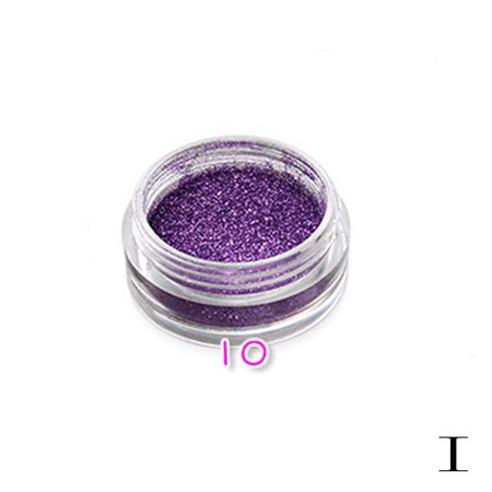 iLH Mallroom 12 Color Glitter Powder Eyeshadow Makeup Eye Shadow Cosmetics Salon I - Halloween Glitter Eye Makeup