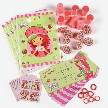 Strawberry Shortcake 'Dolls' Favor Pack - Strawberry Shortcake Baby Shower