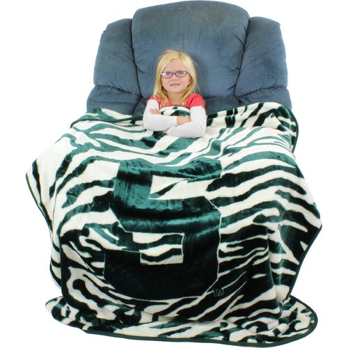 College Covers Michigan State Spartans Throw Blanket