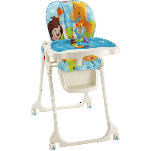 ... Fisher-Price - Precious Planet Blue Sky Baby High Chair