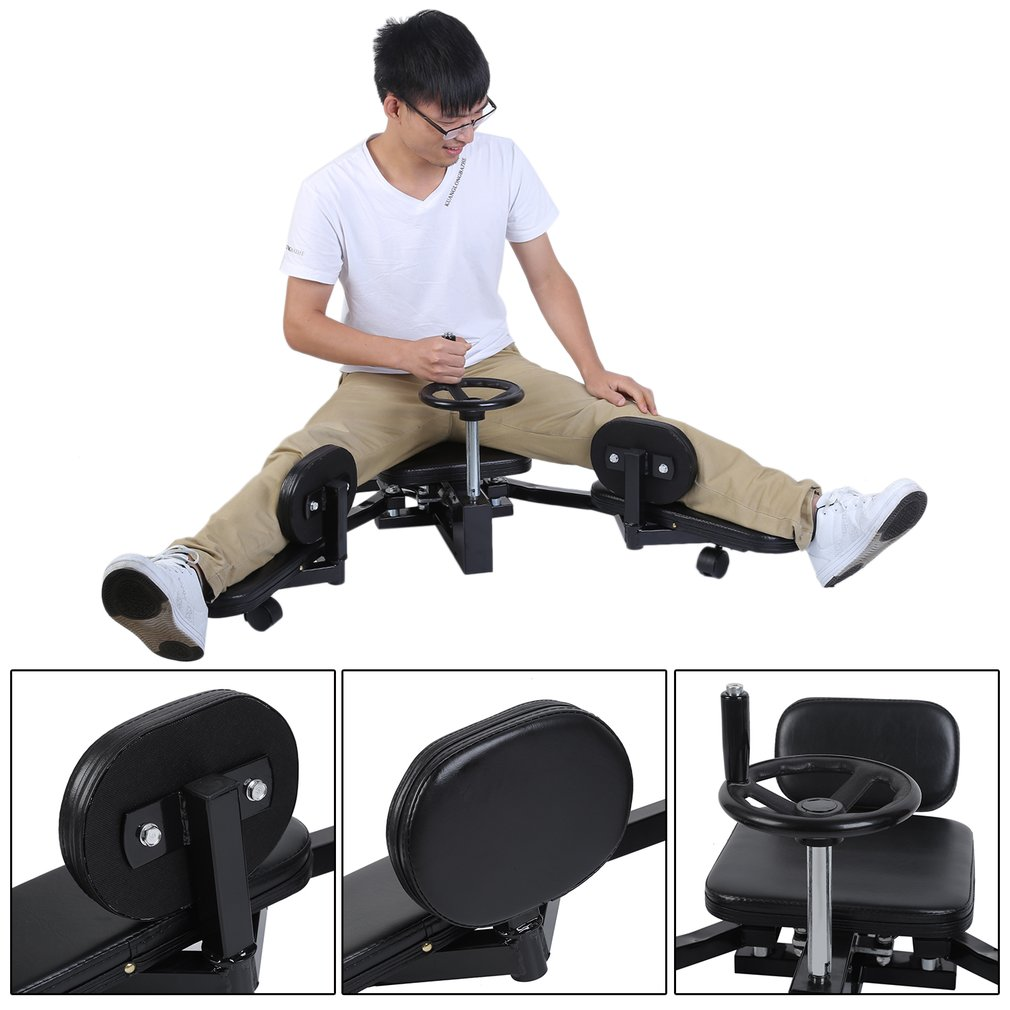 Leg Stretching Machine Steel Frame Leg Stretcher Leg Stretch Training Supplies Leg Splitter Gym Gear Fitness Equipment