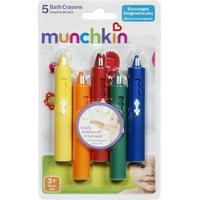 Munchkin Bath Crayons Set, 5 ea (Pack of 3)
