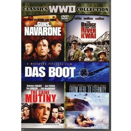 Classics Wwii Collection  The Guns Of Navarone   The Bridge On The River Kwai   Das Boot   The Caine Mutiny   From Here To Eternity