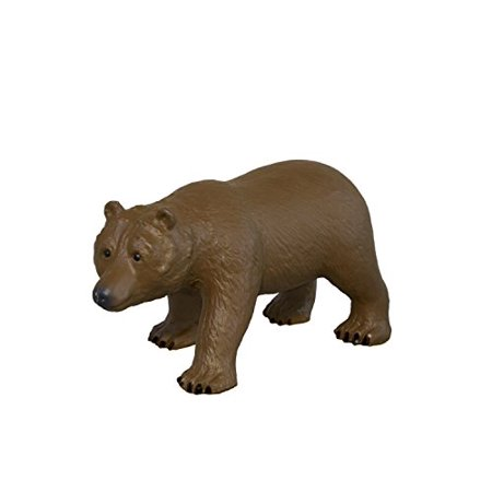 Grizzly Bear Toy Figure - Detailed Animal Toy Made From Soft Latex - Anime Latex