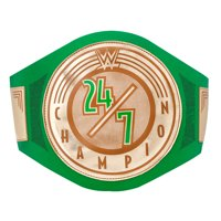 Official WWE Authentic  24/7 Championship Toy Title Belt Gold