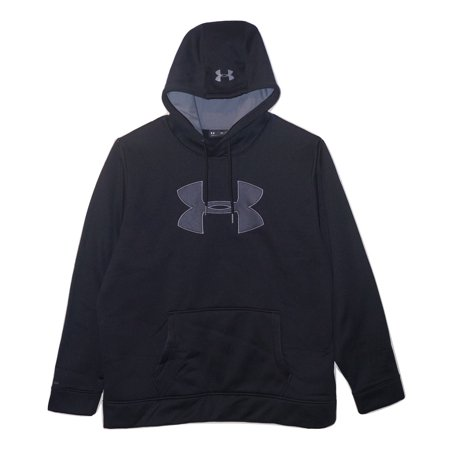 Under Armour Storm Caliber Big Logo Hoodie 1299749 Black 2XL ()