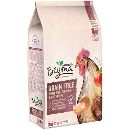 Purina Beyond Grain Free White Meat Chicken & Egg Recipe Dog Food, 3 lb Bag
