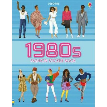 1980S FASHION STICKER BOOK - 1980s Fashion For Kids