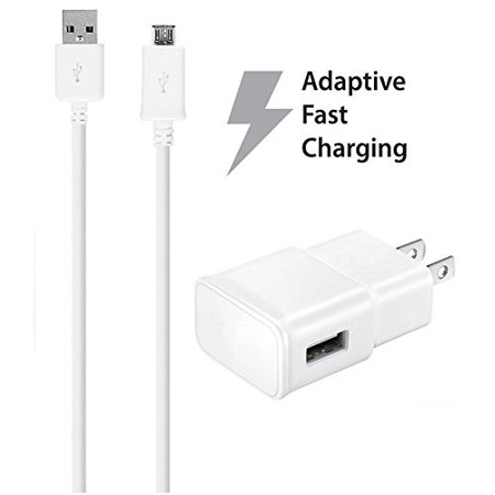HTC One E9s dual sim Charger Fast Micro USB 2.0 Cable Kit by Ixir - {Fast Wall Charger + (Htc Dual Sim)
