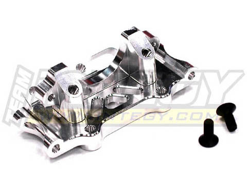 Integy RC Toy Model Hop-ups T7887SILVER Billet Machined Front Bulkhead for Traxxas 1 10... by Integy