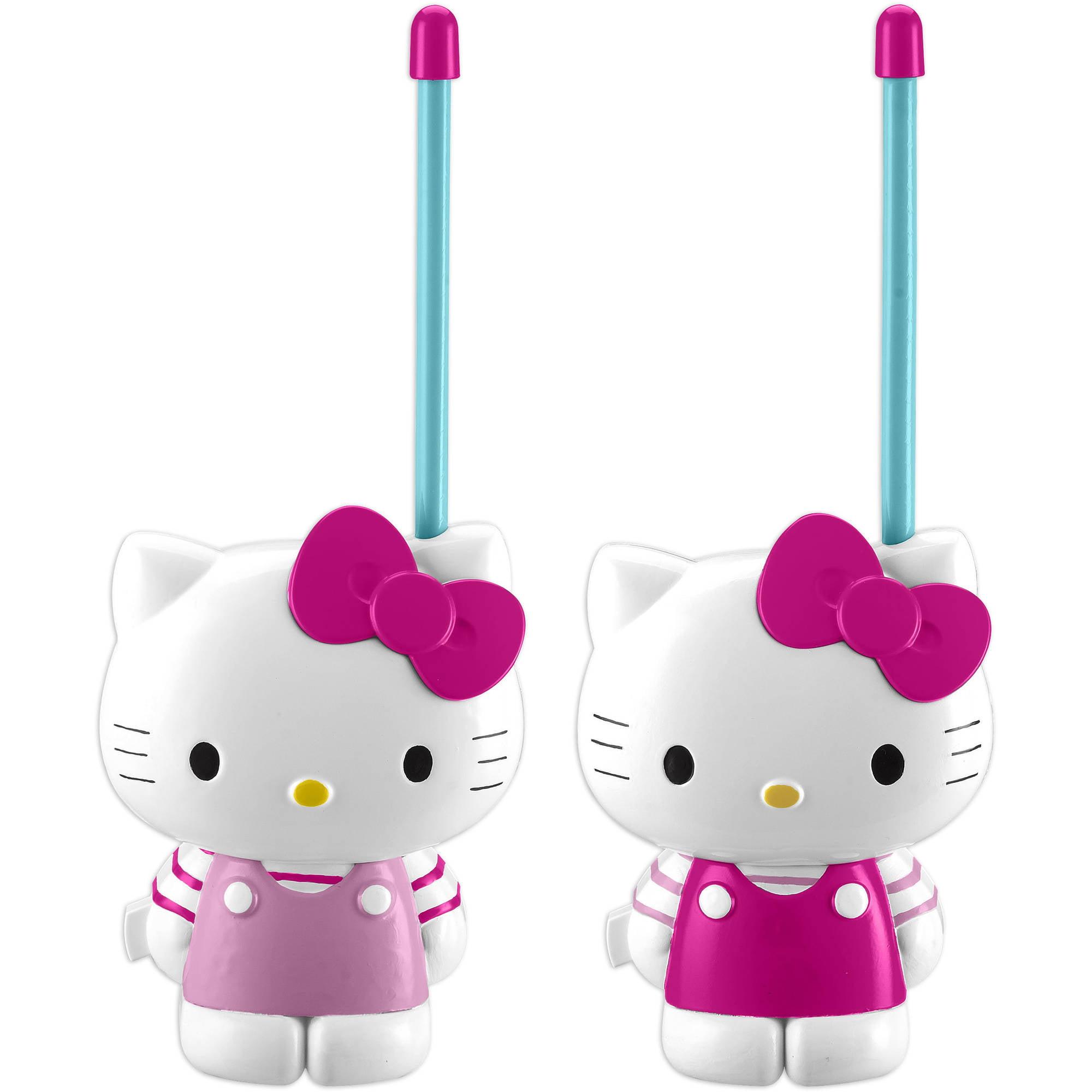 Sanrio Hello Kitty Short-Range Walkie Talkies by Kiddesigns